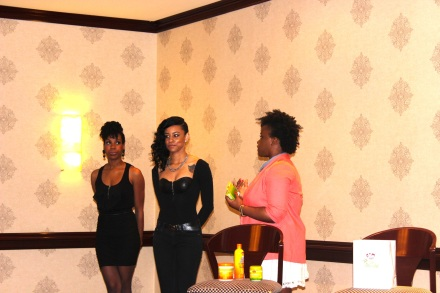 African Pride Models at the Ultimate Beauty Social- Houston