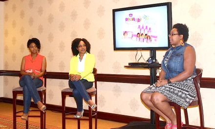 Shasie of Live Life in Style blog sharing her experiences with natural hair in the workplace.